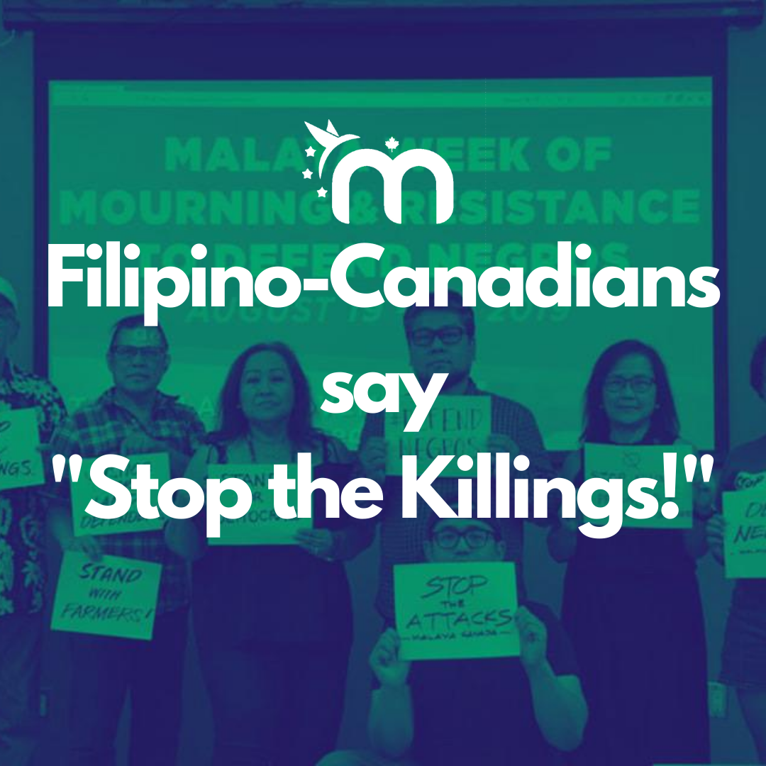 Open Letter to Stop the Killings and Human Rights Violations in the Philippines
