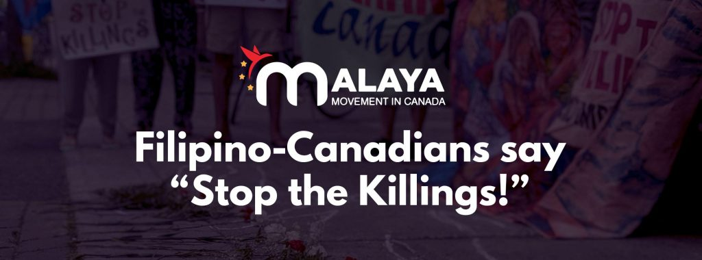 Stop the Killings banner image