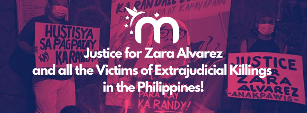 Justice for Zara banner image
