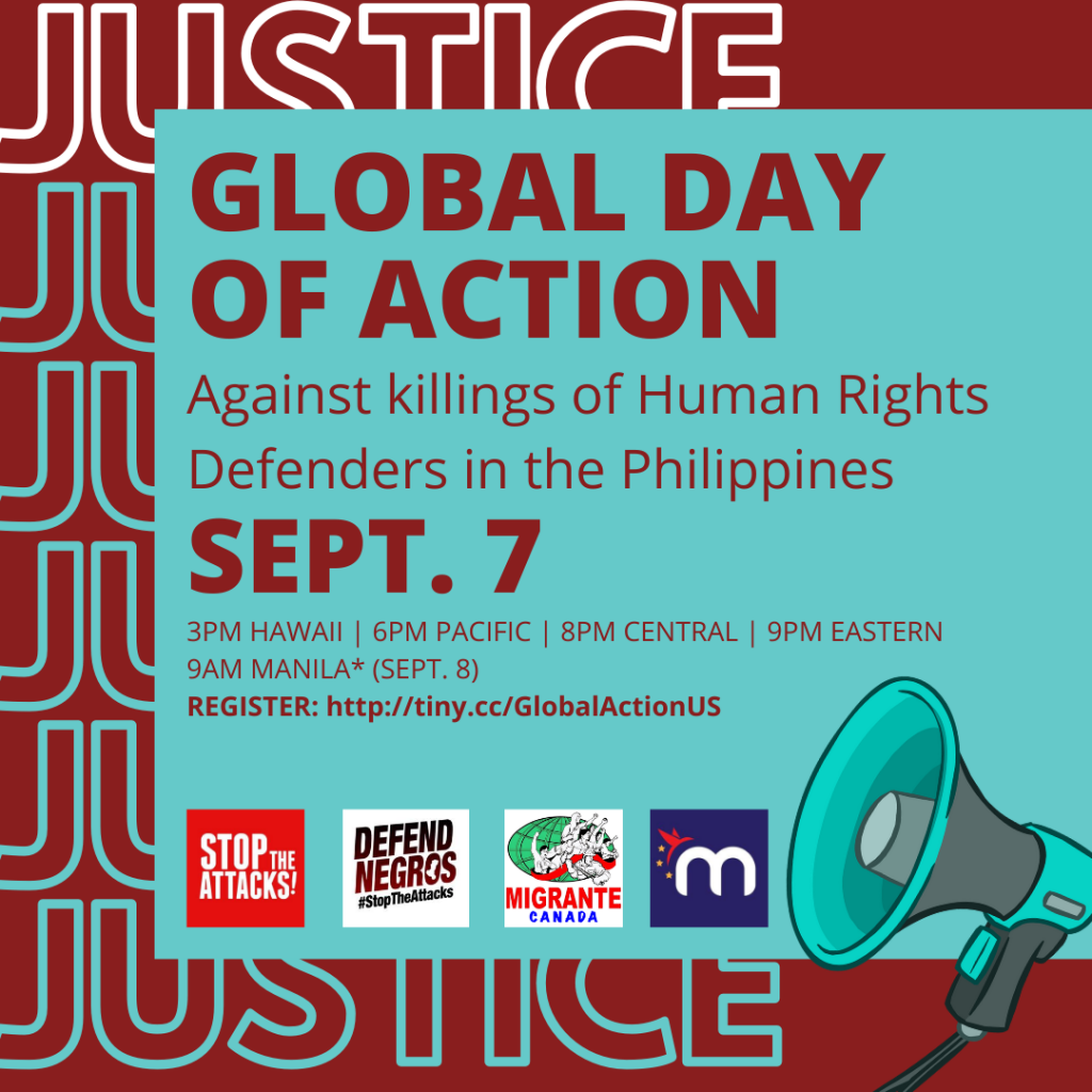 Global Day of Action Sep 7, 2020