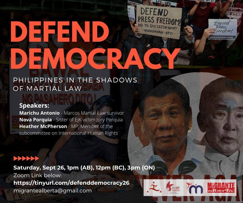 Defend Democracy poster