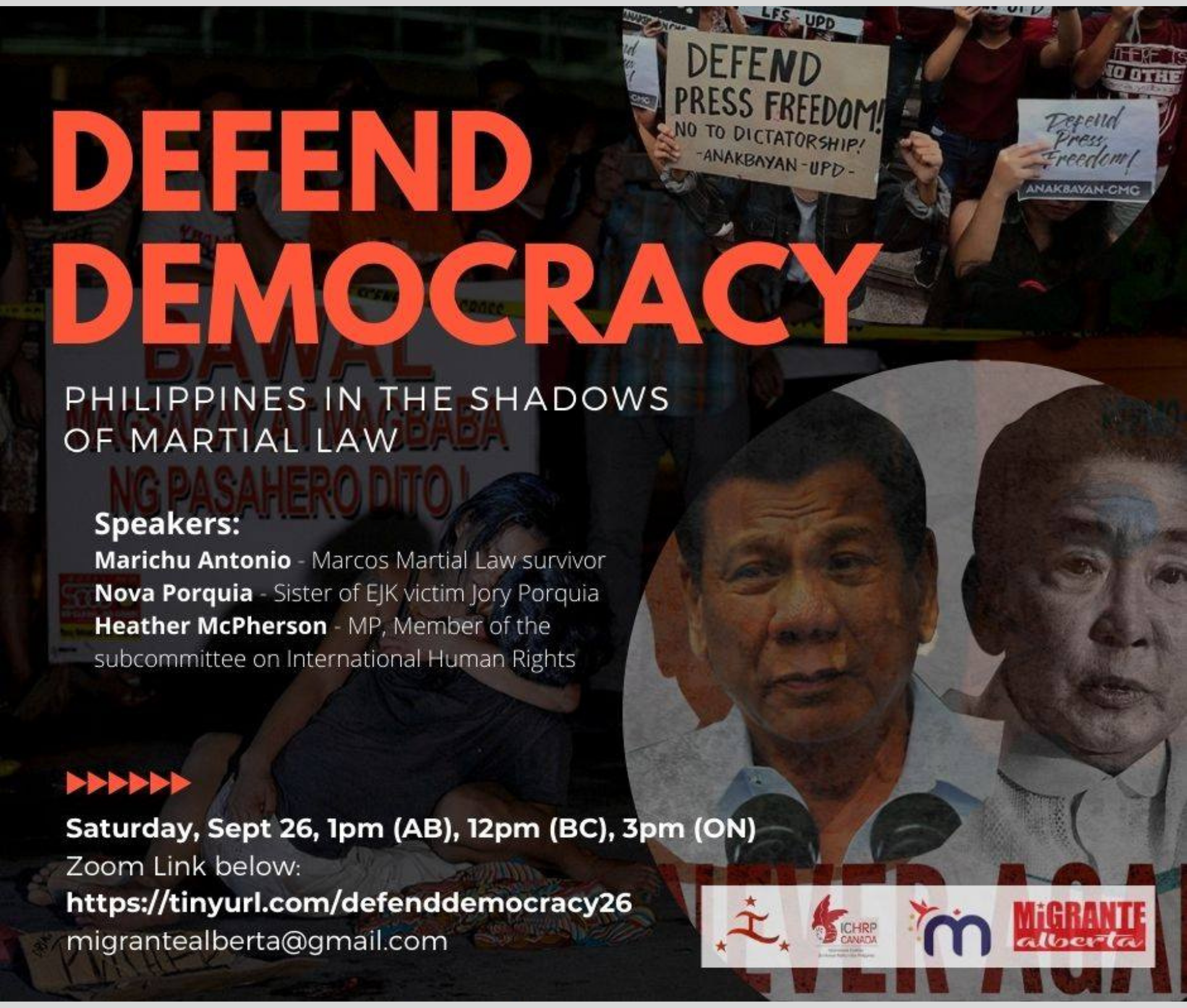 Defend democracy video