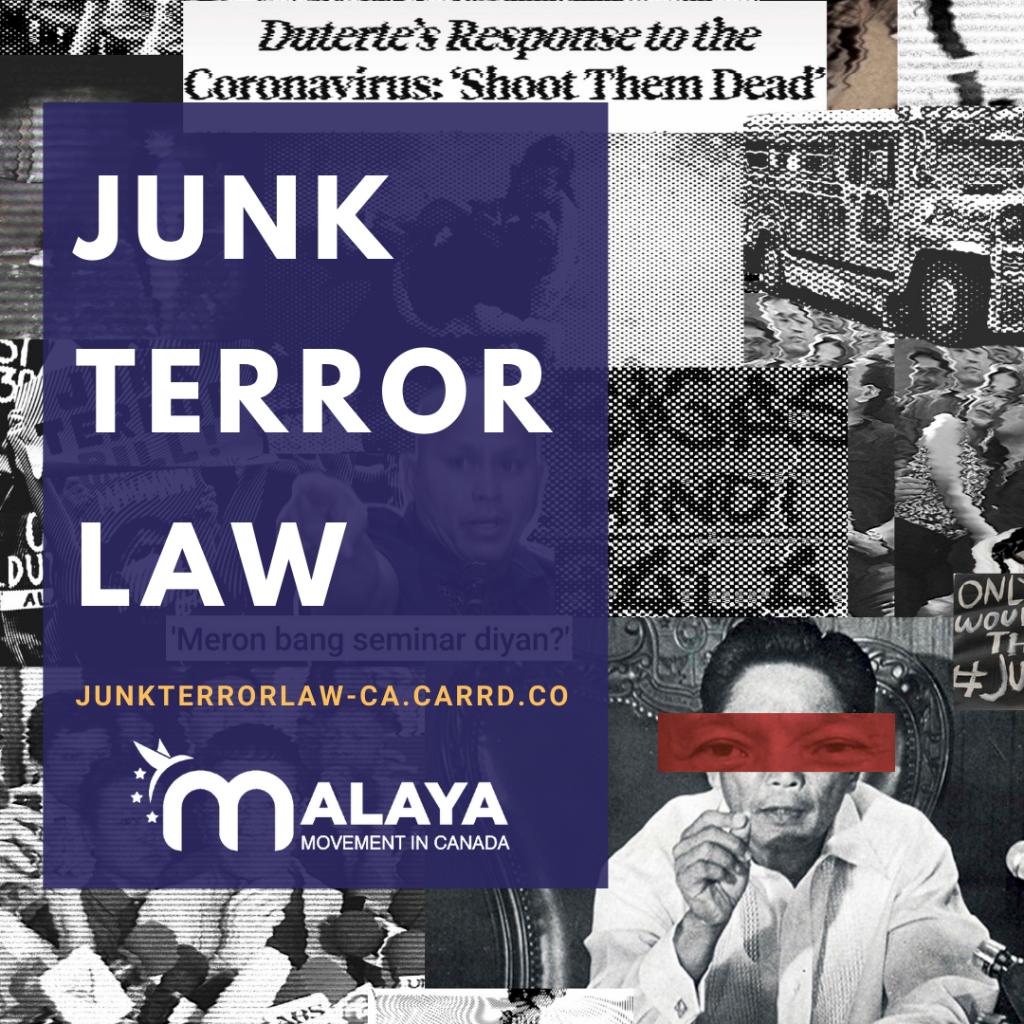 Junk Terror Law