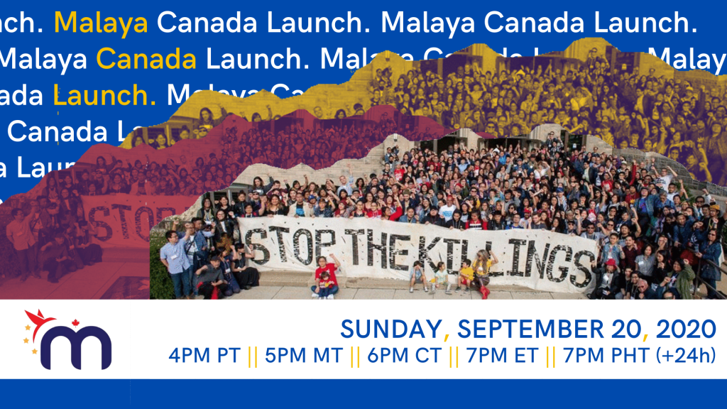 Malaya Canada Launch cover image