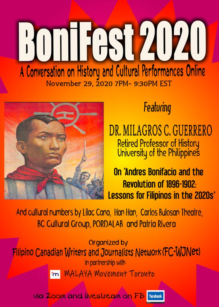 BoniFest 2020 poster