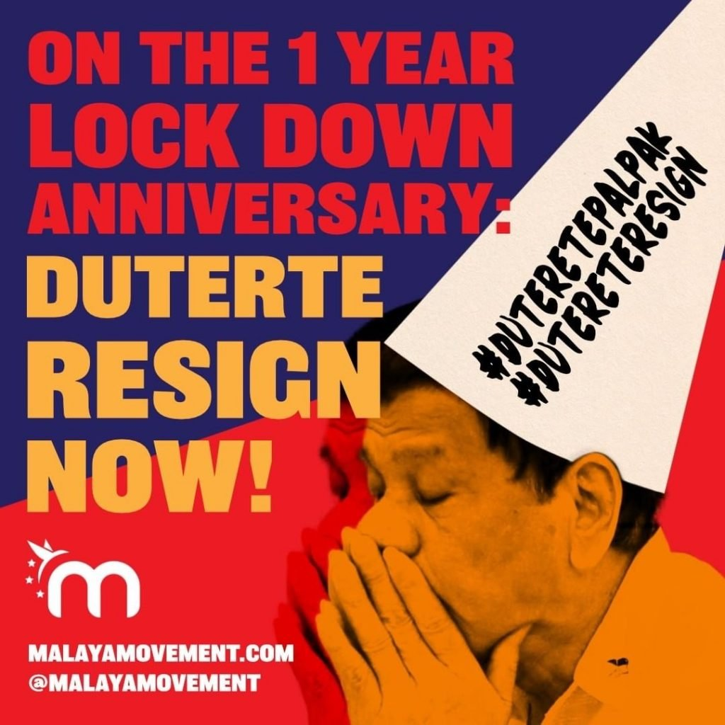 Duterte Lockdown Anniversary